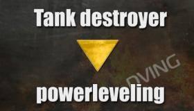 Powerleveling Tank destroyer 1-10