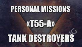 Personal mission Tank Destroyer T55 A