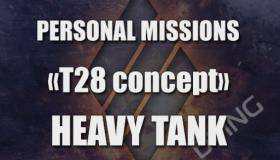 Personal mission Heavy Tank T28 Concept
