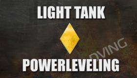 Powerleveling Light tank 1-10
