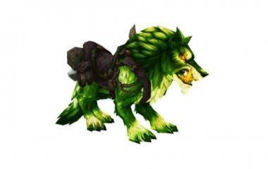Инфернальный лютый волк
