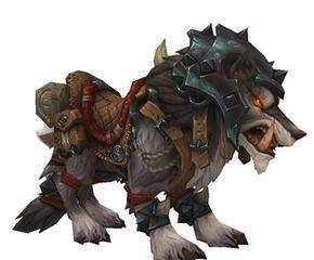 Закованный в броню боевой волк