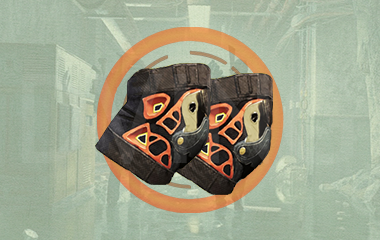 NinjaBike Exotic Kneepads
