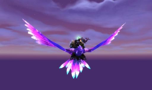 Фиолетовый чарокрыл
