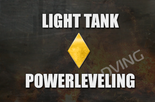 Powerleveling Light tank 1-10