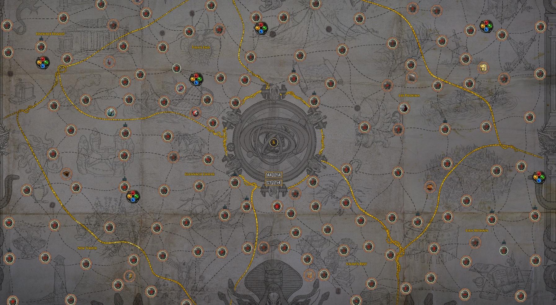 Камни завоевателей Атласа (8 уровень пробуждения)