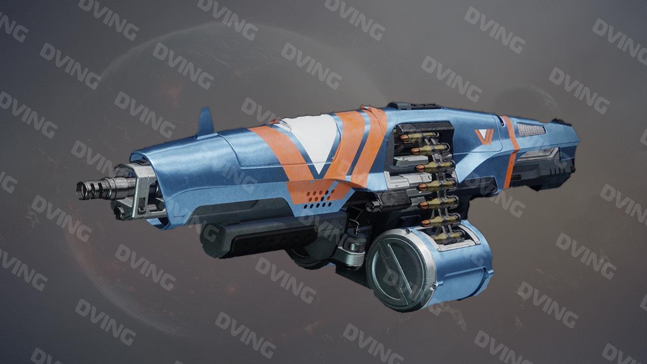 Edgewise Machine Gun Vanguard Ritual Weapon