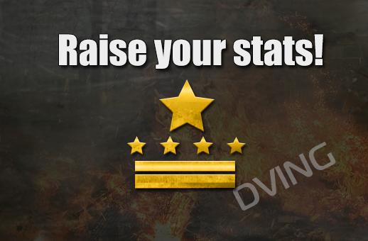 Raise your stats!