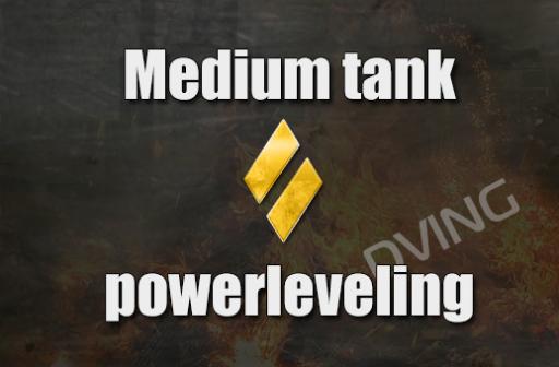 Powerleveling meduim tank 1-10