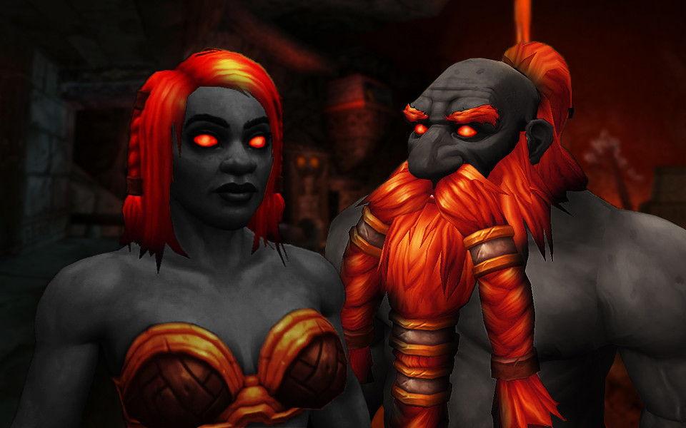 Dark Iron Dwarves