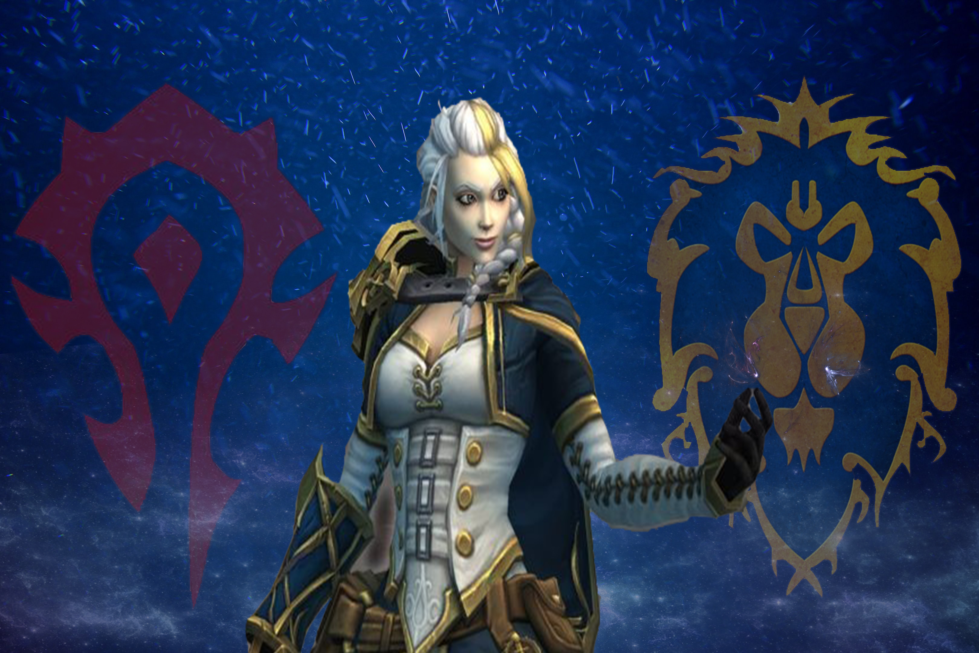 Lady Jaina Proudmoore 👉 All modes