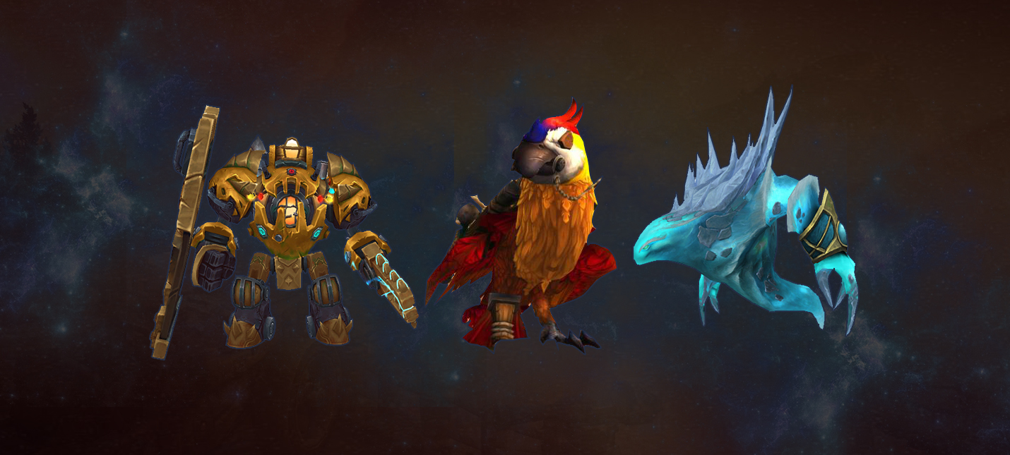 All mounts Battle for Azeroth