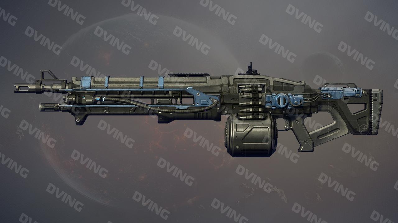 Thunderlord Exotic Machine Gun
