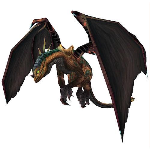 Пятнистый верховой дракон