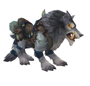 Быстрый северный волк