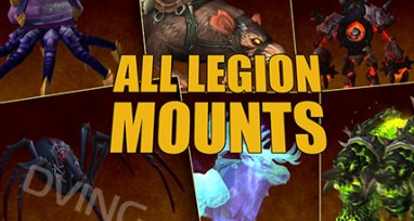All Legion Mounts